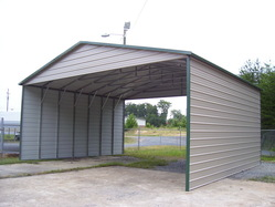 30 Wide Interstate Carport Packages