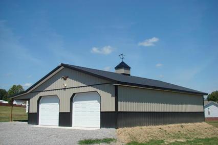 Pole barn kits michigan mi pole buildings michigan mi for 30x40 garage package