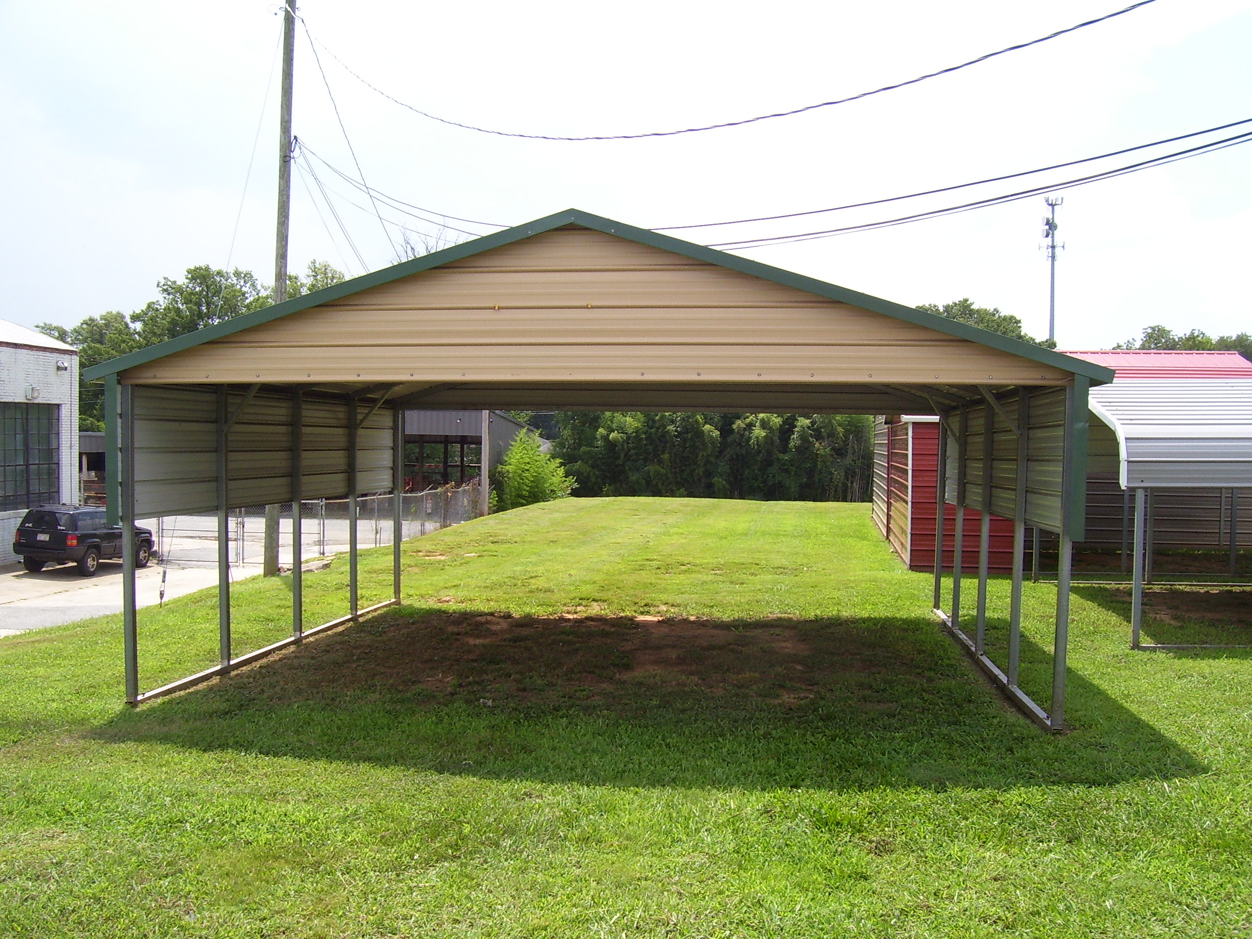 Metal carports charlotte nc charlotte north carolina for Carport one