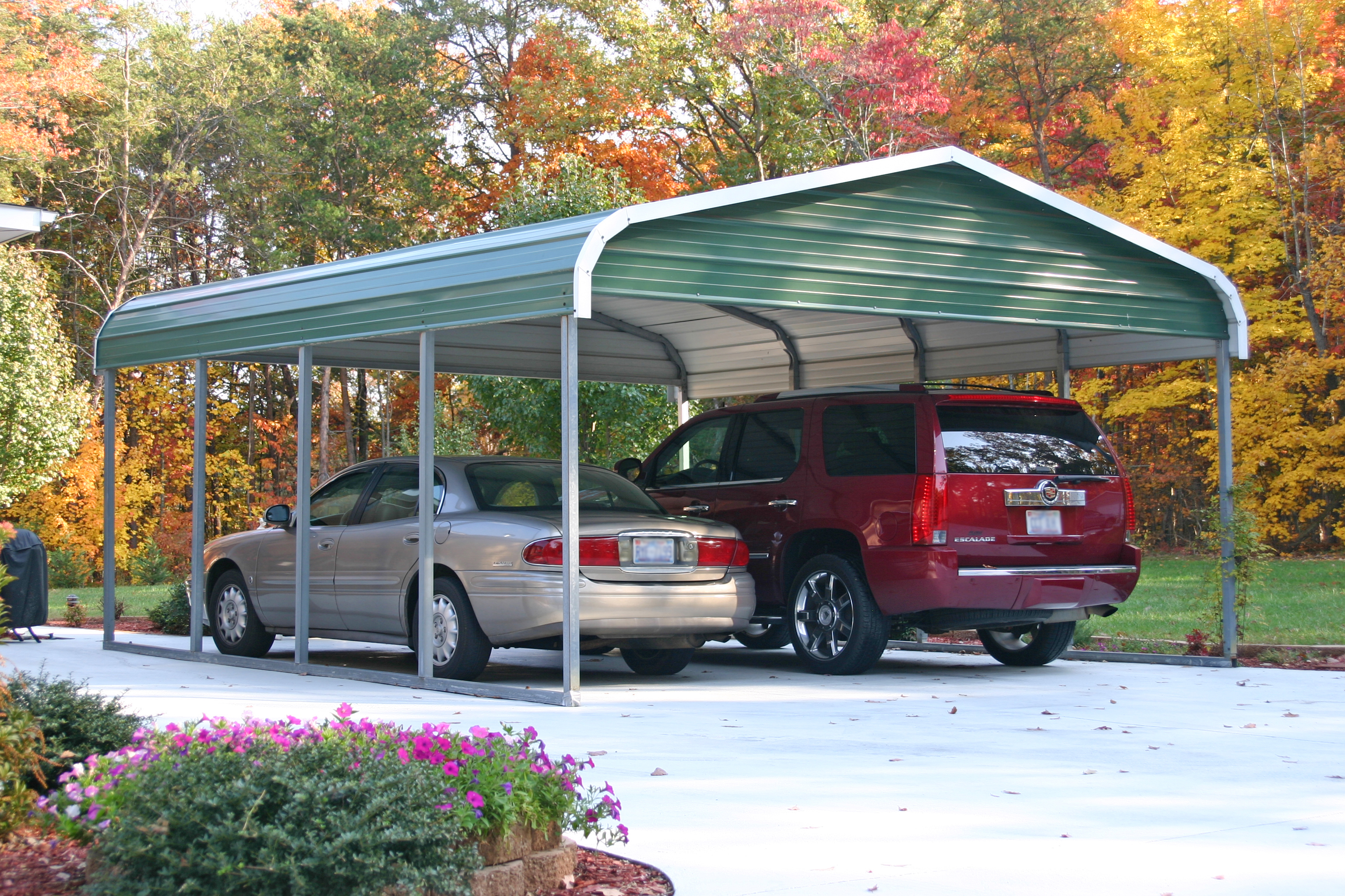 kansas carports ks carports for sale. Black Bedroom Furniture Sets. Home Design Ideas