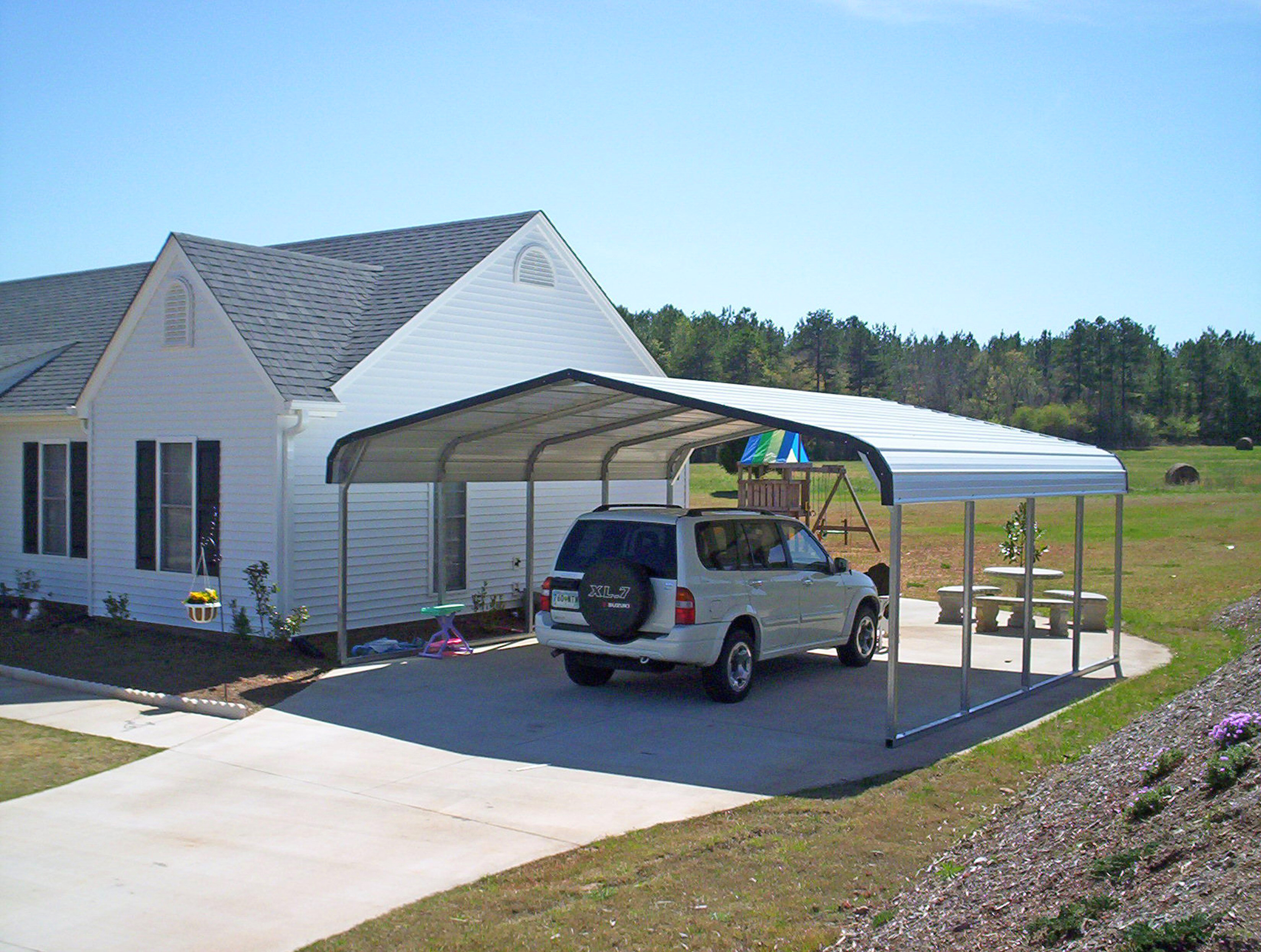 Metal carports greenville sc greenville south carolina for Carport garages