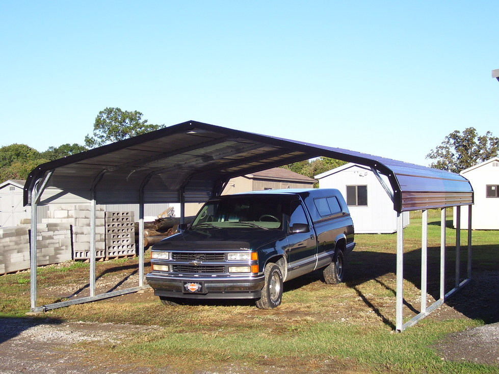 Carports kentucky ky metal carports steel carports Garage carports