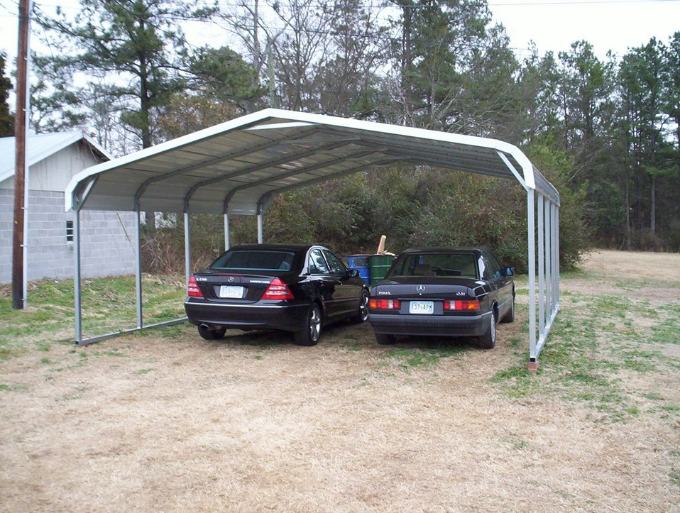 Carports montana mt for Covered car port