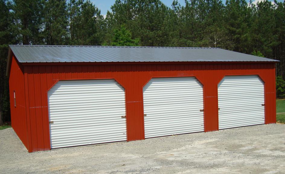North Carolina NC Metal Garages, Barns, Sheds and Buildings