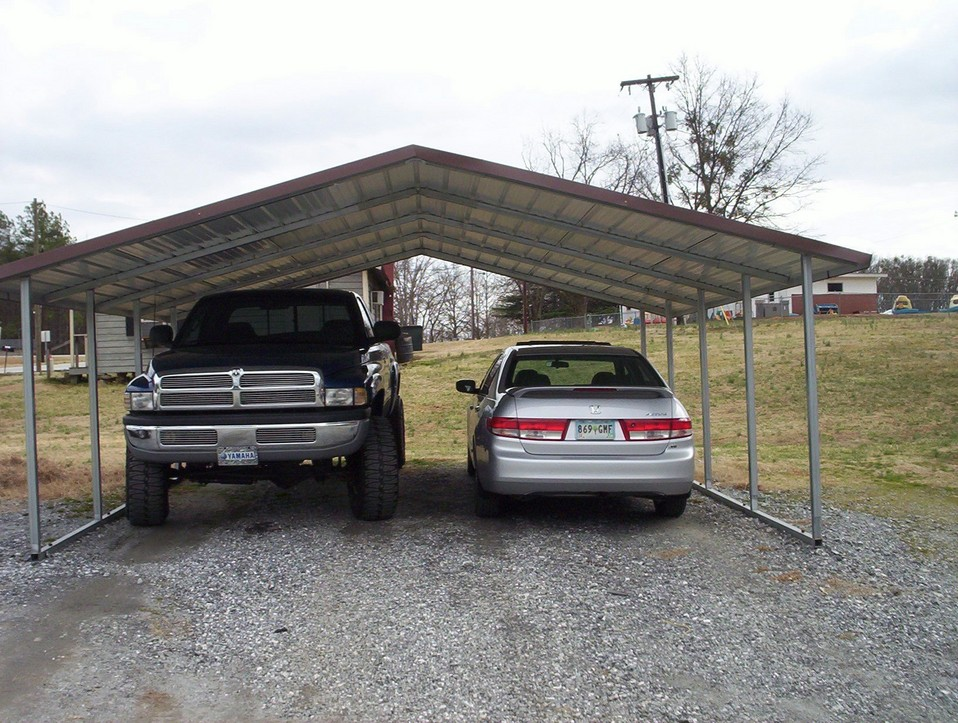 2 Car Metal Carport
