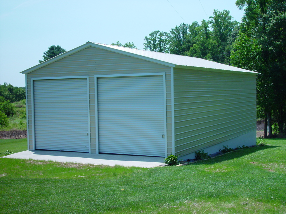 30 and 40 wide southern building packages for Garage building packages