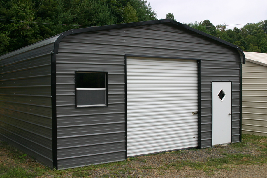 Carports south dakota sd metal garages steel buildings for One car garage kits sale