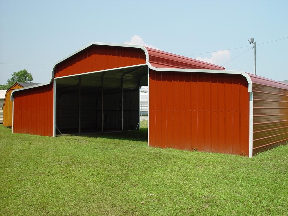 Hay barns hay barn for Hay pole barns