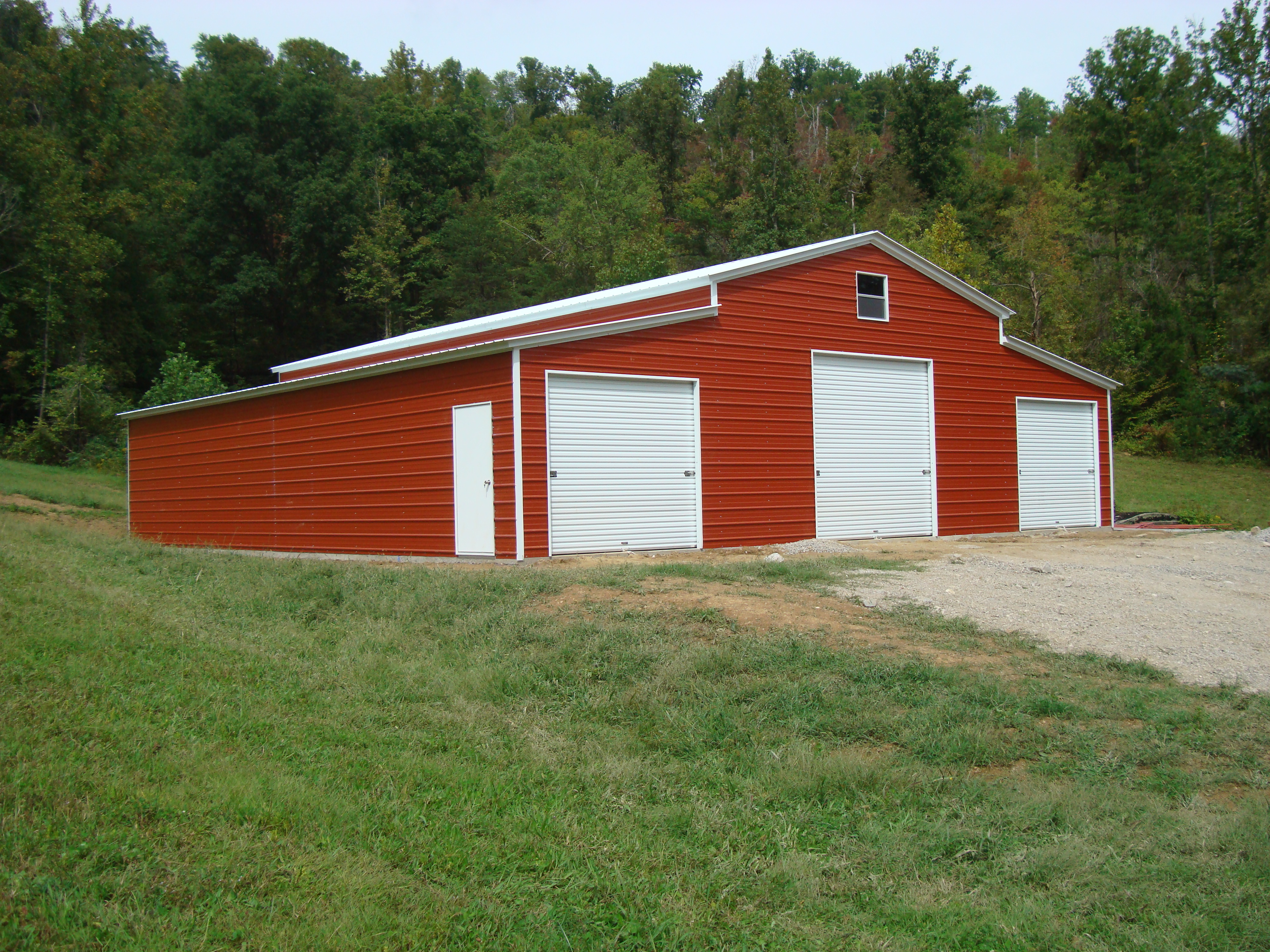 Kansas ks metal garages barns sheds and buildings for Sheds and barns