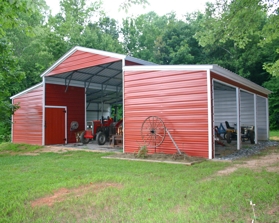 Southern carports for Metal barn pictures