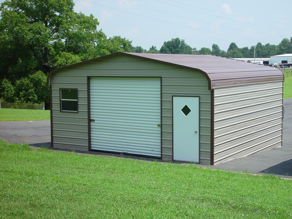 Metal garages georgia ga prices for Metal garage pics