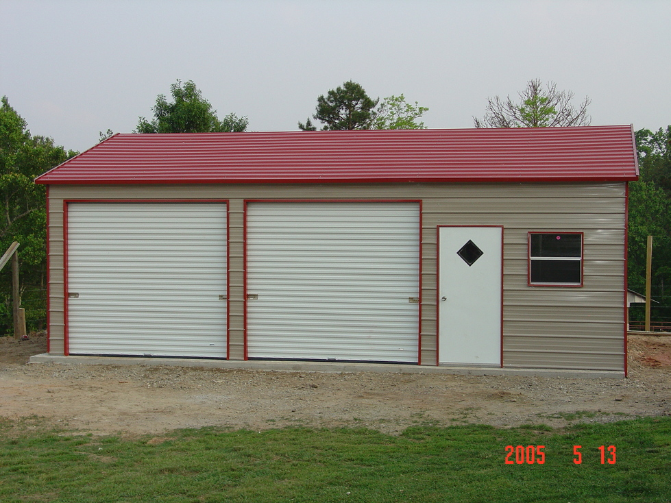 Metal garages michigan mi for Garage and carport