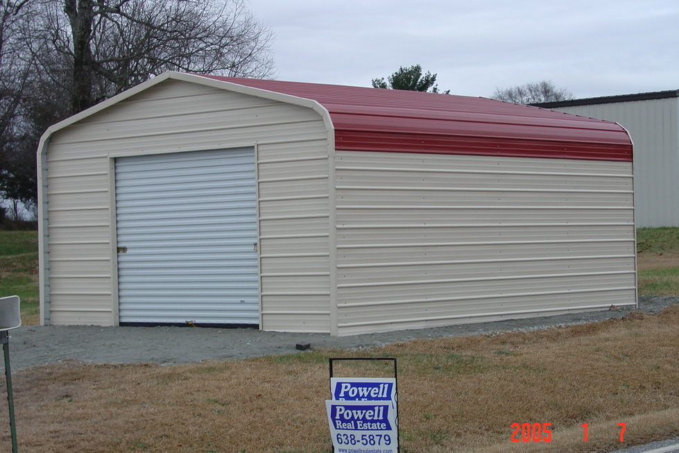 Metal garages virginia va prices for Garage and carport