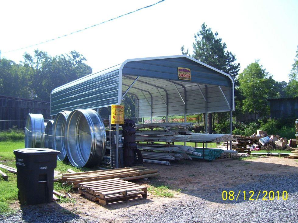 Steel Rv Ports : Rv garage metal garages ports