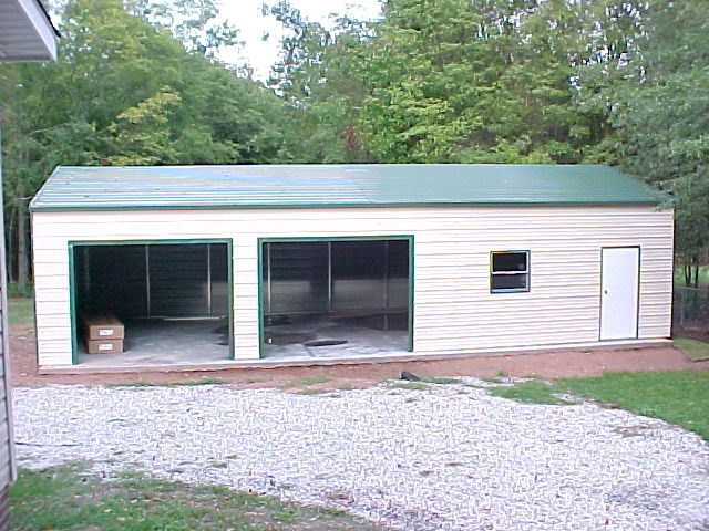 Portable Aluminum Carports Off Side Of House : Southern garage packages