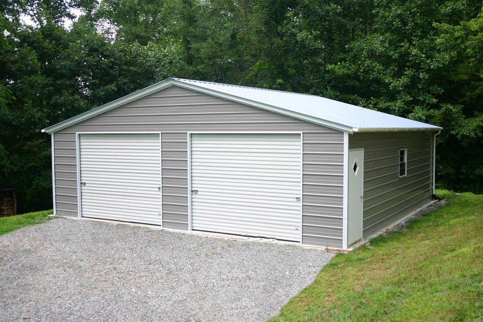 Pin Steel Metal Garage Building Kit 1200 Sq Workshopjpg On