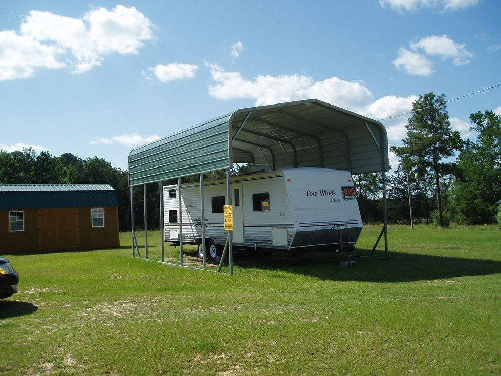 Northern rv cover packages for Portable rv garage