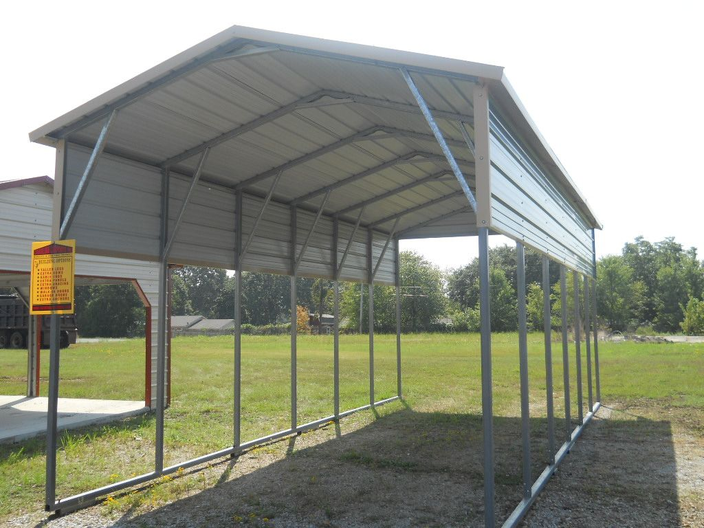 Portable Aluminum Carports Off Side Of House : Carports arizona az metal