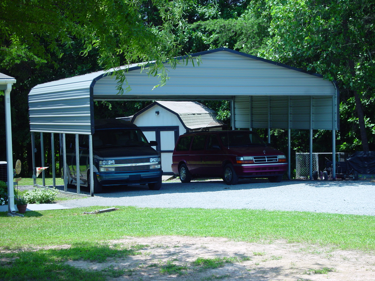 Metal carports athens tn athens tennessee carports for Garage and carport