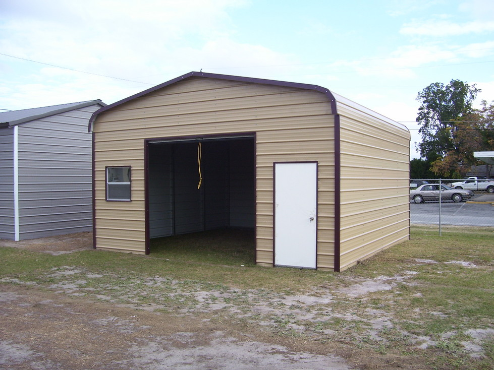 Single car garage single car garages for Single garage with carport