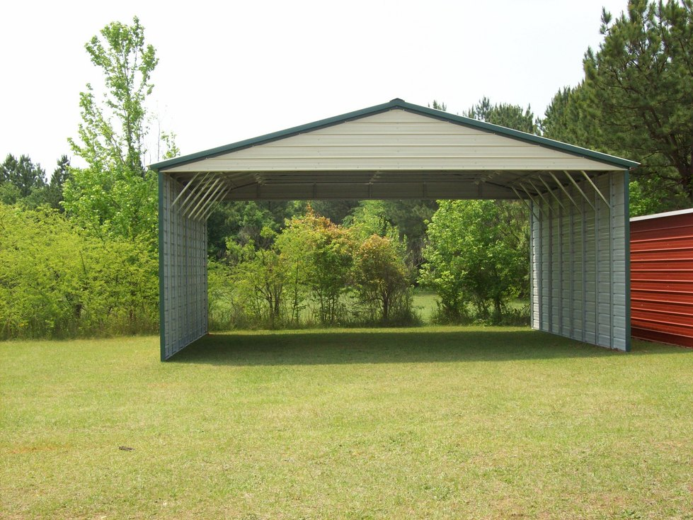 lovely three car carport #2: 3-Car Carports. Triple Carports ...