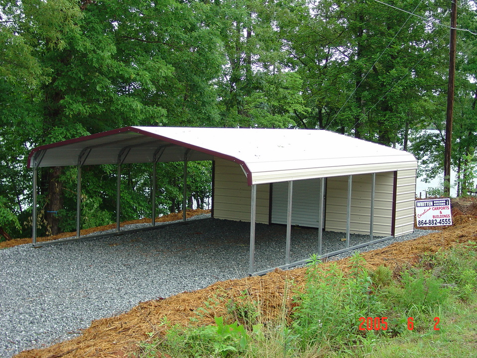 carport with storage