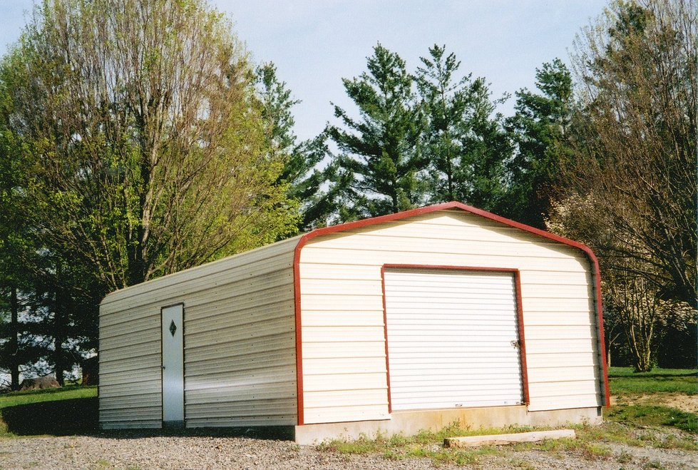 Carports enclosed carport prices for Garage building costs calculator